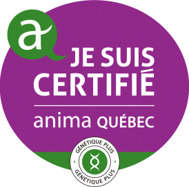 Logo Certifié Qualité Génétique Plus
