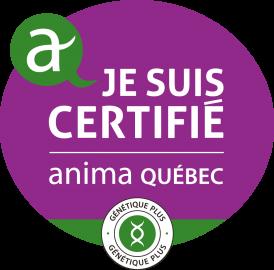 Logo Anima Québec_Génétique Plus
